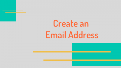Create an Email Address Cover Photo